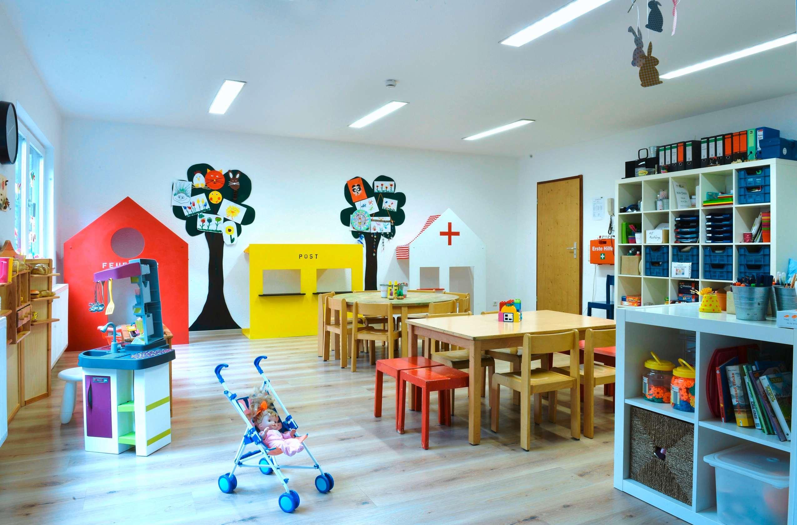"""Kids Club"" Spielraum im Sporthotel Grafenwald."